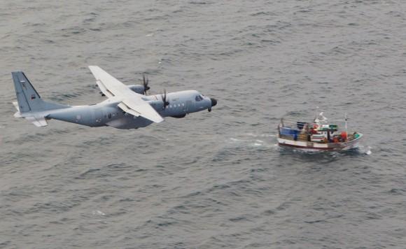 C-295M português de vigilância marítima da Esquadra 502 Elefantes - foto Força Aérea Portuguesa