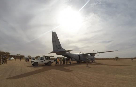 C-295M português no Mali - foto Força Aérea Portuguesa