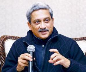 MD da Índia Manohar Parrikar - foto via Times of India