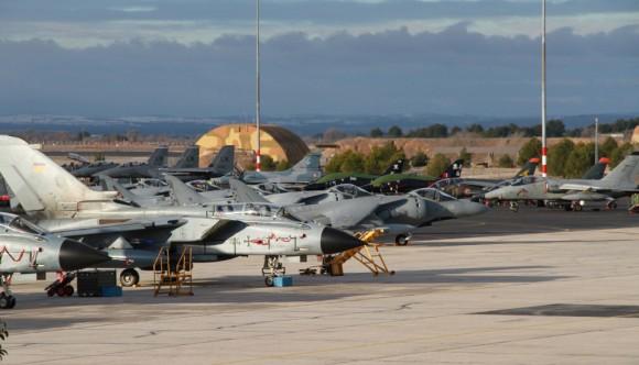 TLP 2015 na Espanha - foto Força Aérea Espanhola