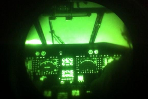 Resgate Noturno - Caracal do Esquadrão Falcão - foto FAB
