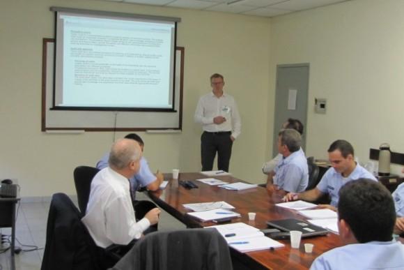 Reunião certificação Gripen NG Brasil - Suécia - foto via FAB
