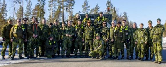 Gripen - Ala 17 treina tiro ar-solo em Vidsel - foto 12 Forças Armadas da Suécia