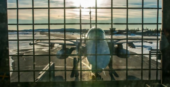 Gripen - Ala 17 treina tiro ar-solo em Vidsel - foto 3 Forças Armadas da Suécia