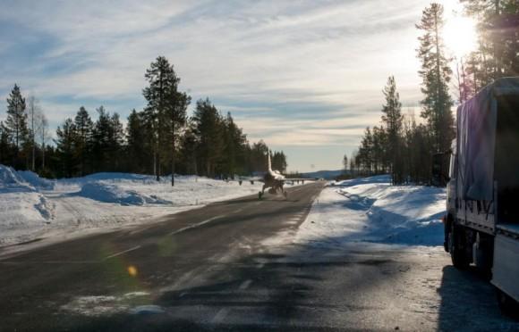Gripen - Ala 17 treina tiro ar-solo em Vidsel - foto 7 Forças Armadas da Suécia