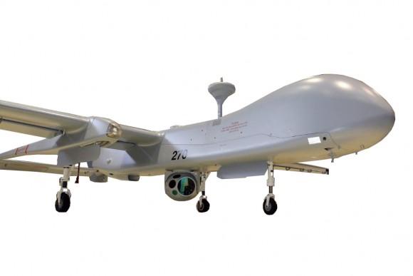 M19 HD on IAI-made Heron UAV