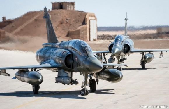 Mirage 2000D na Operação Chammal - foto 2 Força Aérea Francesa