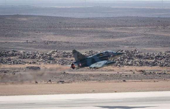 Operação Chammal - Mirage 2000D - foto via Min Def França
