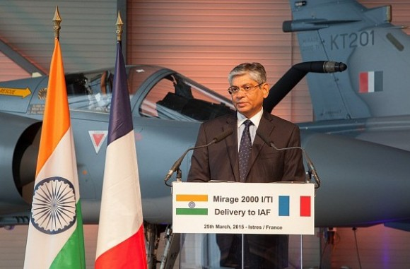 cerimônia entrega primeiros Mirage 2000 modernizados à Índia -  foto 2 Dassault