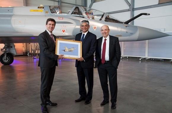 cerimônia entrega primeiros Mirage 2000 modernizados à Índia -  foto 4 Dassault