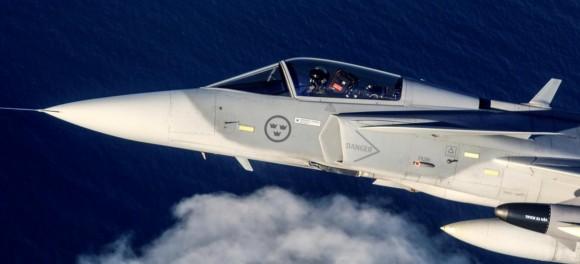 Gripen seção frontal - foto Saab