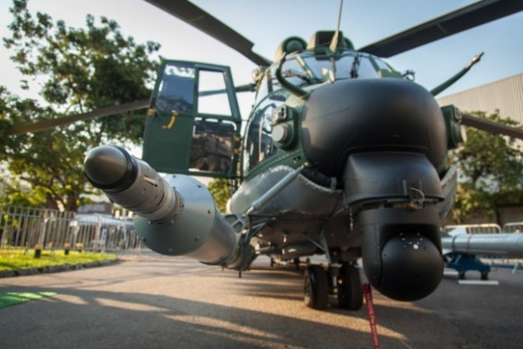 H-36 com probe REVO - foto FAB