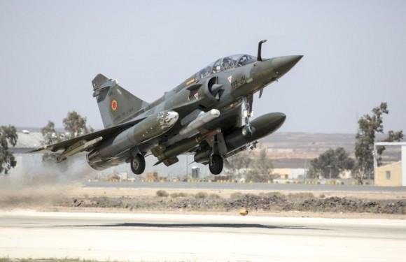 Mirage 2000 na Operação Chammal - foto Min Def França