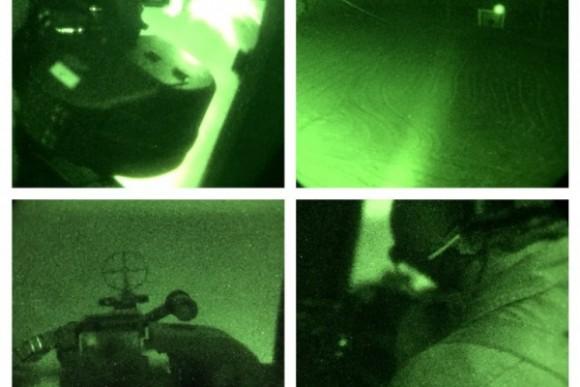 Caracal em missão noturna