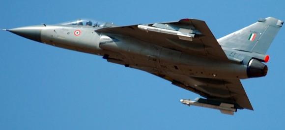 LCA Tejas - foto Forca Aerea Indiana