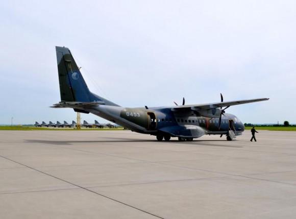 Lion Effort 2015 - C-295 tcheco - foto via Base Aérea Caslav Rep Tcheca