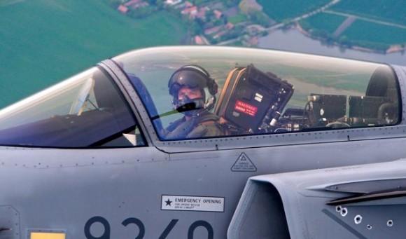 Lion Effort 2015 - Gripen tcheco pintura Tiger Meet - foto 2 via Base Aérea Caslav Rep Tcheca