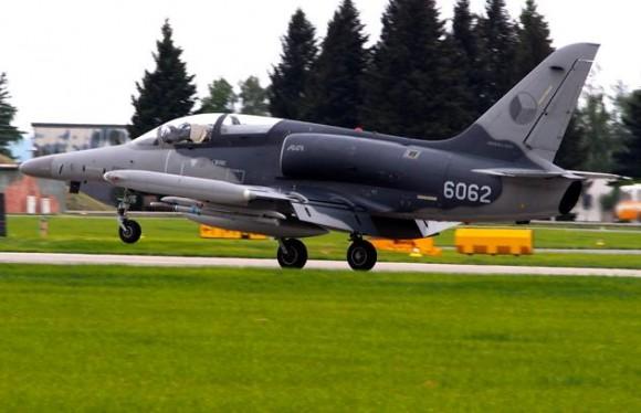 Lion Effort 2015 - L-159 tcheco - foto via Base Aérea Caslav Rep Tcheca
