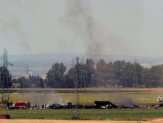 acidente com A400M na espanha - foto Airbus