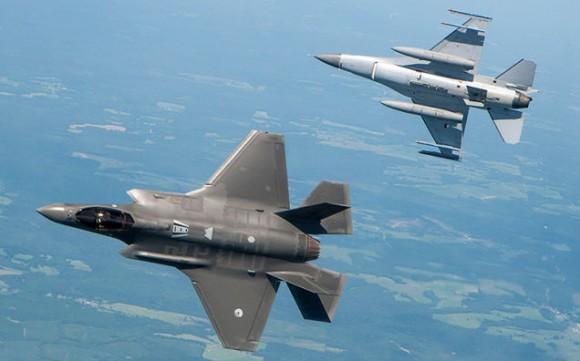 F35 x F16