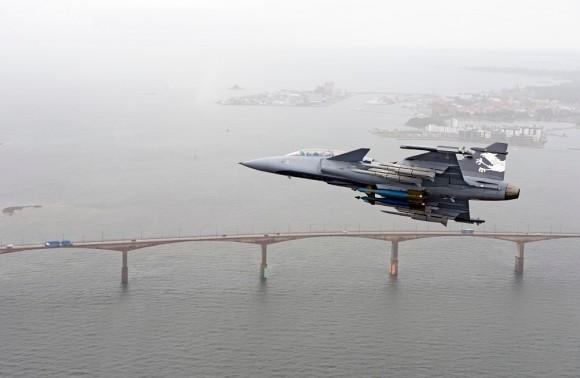 Gripen Demonstrador - foto 2 Saab