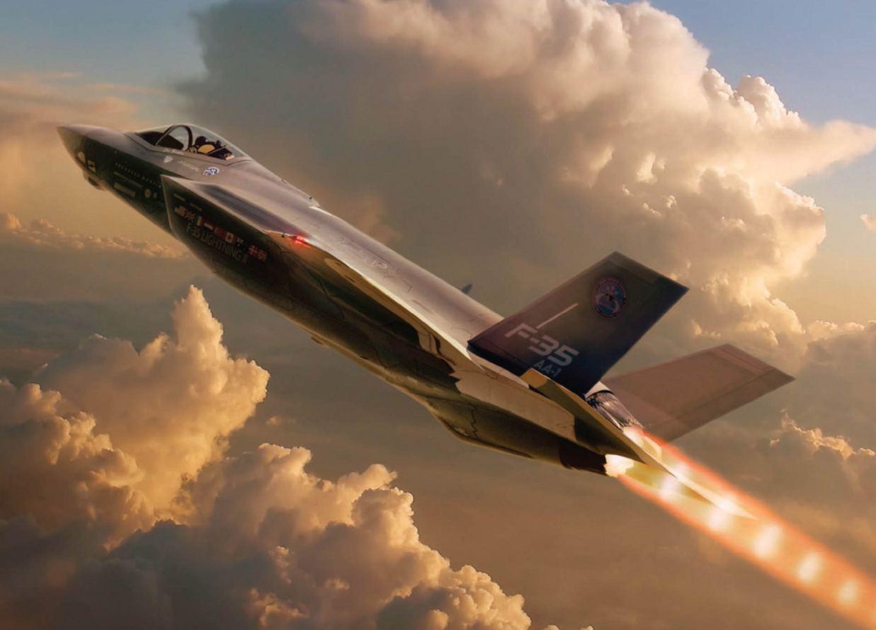 F-35 pos-combustor - foto P&W