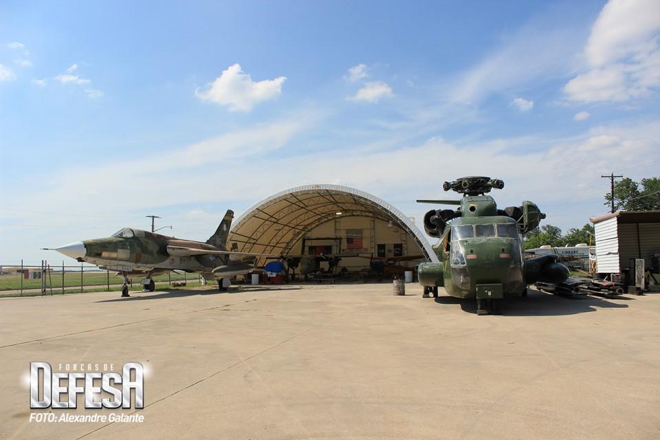 FWAM área de recuperação de aeronaves