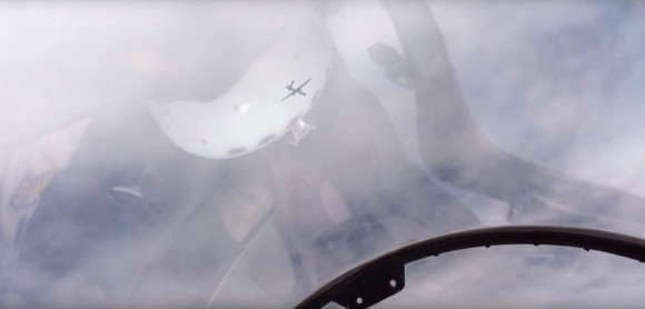 Su-30 interceptando MQ-9