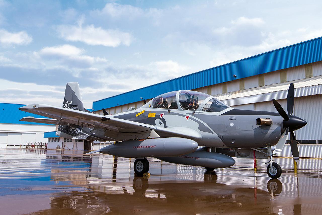 Demonstrador A-29B Super Tucano - 1