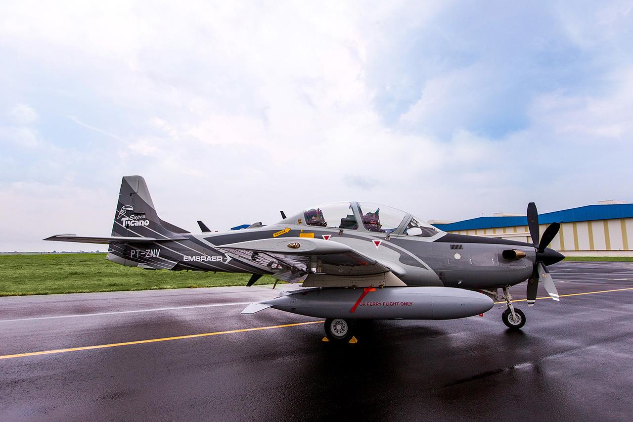 Demonstrador A-29B Super Tucano - 5