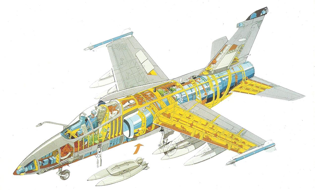 AMX 31 - Cutaway drawing 2