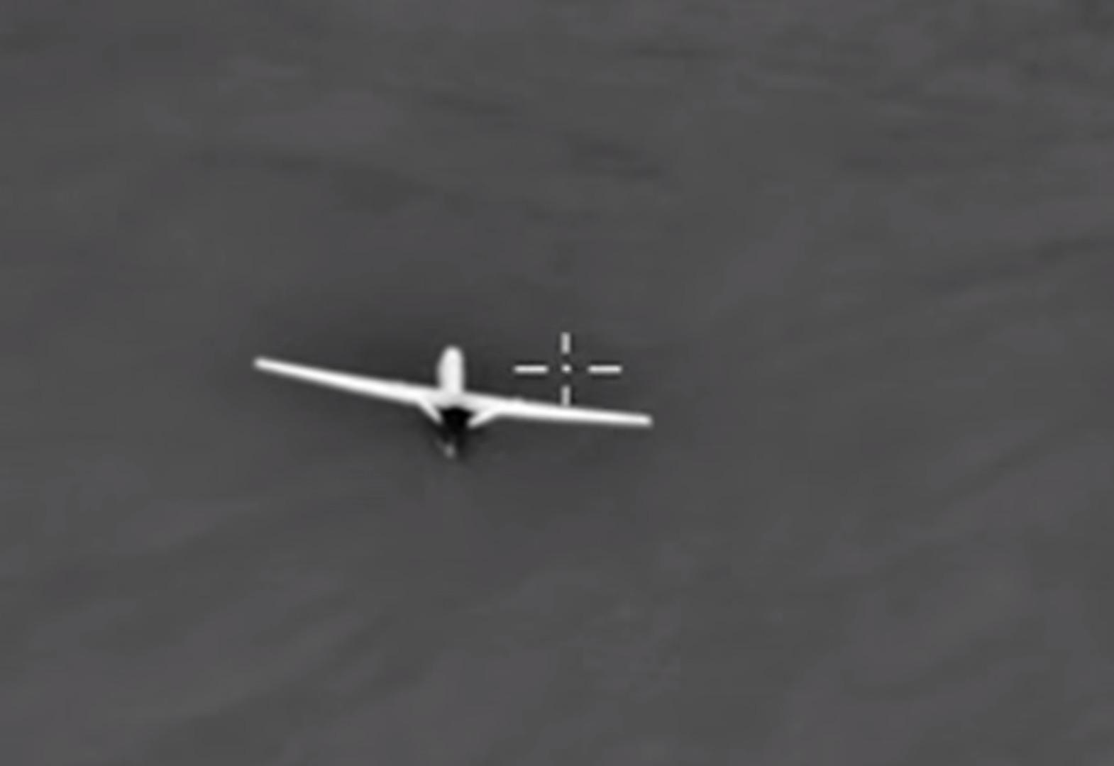 predador monitorado por russos sobre a siria