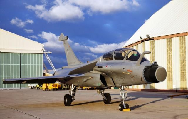 Rafale com radar AESA RBE2 - foto Dassault