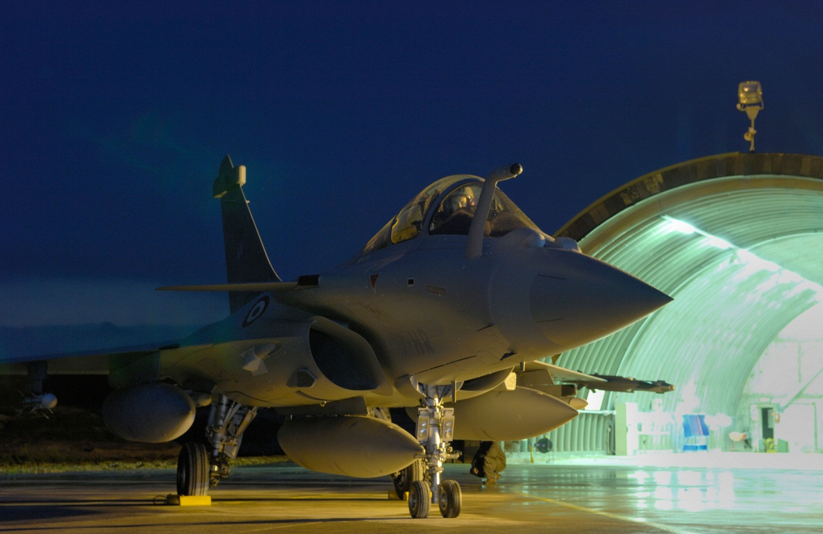 Rafale na base de St Dizier - foto K Tokunaga - Dassault