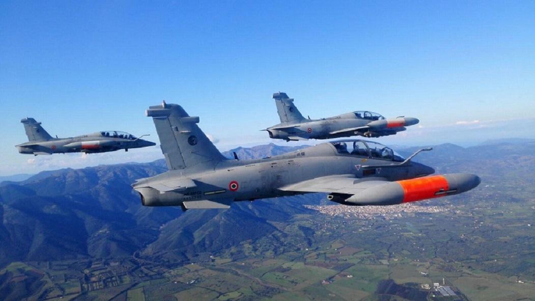 FT339C - MB339 - foto Forca Aerea Italiana