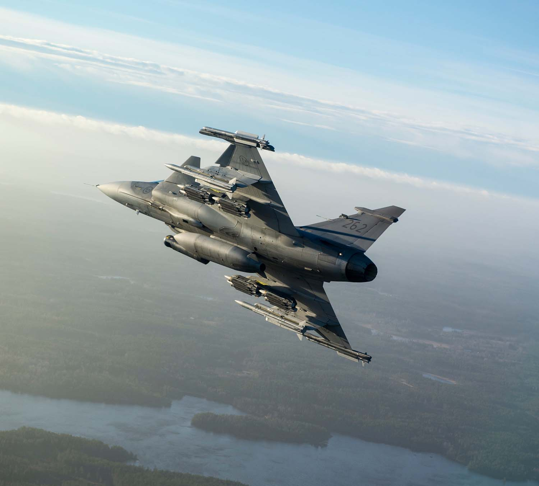Gripen JAS-39C MS20 matric 262 - foto 4 Saab