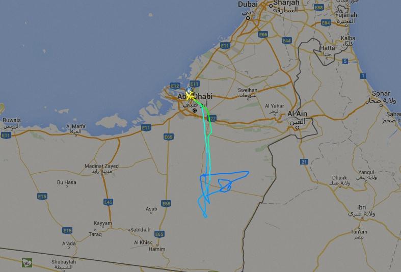 KC-390 em abu dhabi