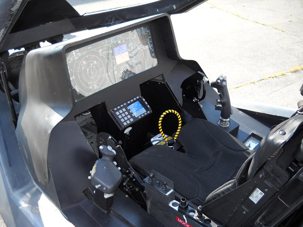 Modelo de cockpit do F-35