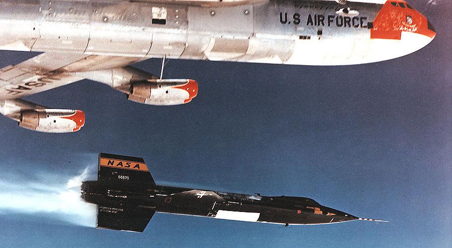 X-15 e B-52
