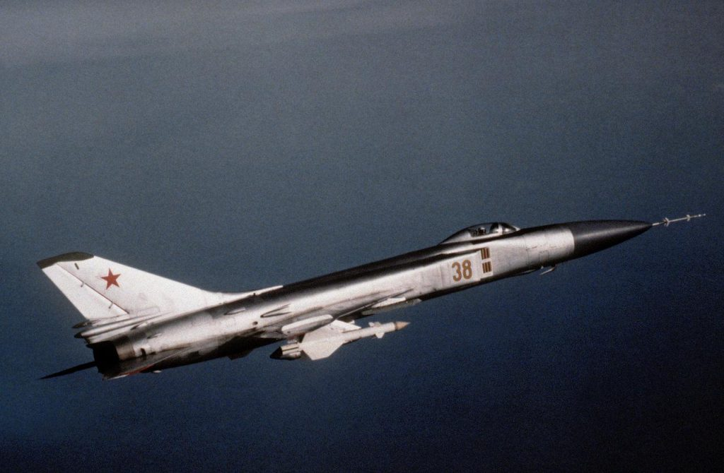 Sukhoi-Su-15-NATO-Code-Name-Flagon-with-R-98MR-air-to-air-missile