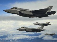 Caças F-35A da USAF