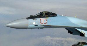 Su-35S sobre a Síria