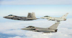 F-22 Raptor, Eurofighter e Rafale