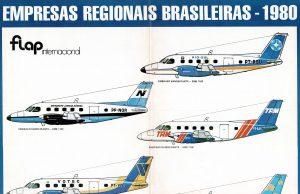 Poster Empresas Regionais Brasileiras - 1980