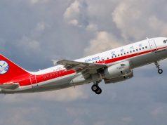 A319 da Sichuan Airlines
