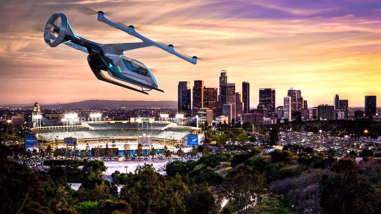 Embraer revela projeto de veículo aéreo urbano movido a eletricidade