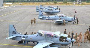 Força Aérea Libanesa recebeu quatro novos aviões de ataque leve A-29 Super Tucano