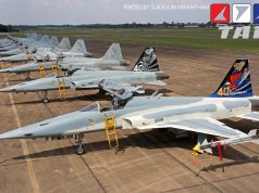 Os F-5E da Tailândia comemoraram 40 anos de operação em 2018
