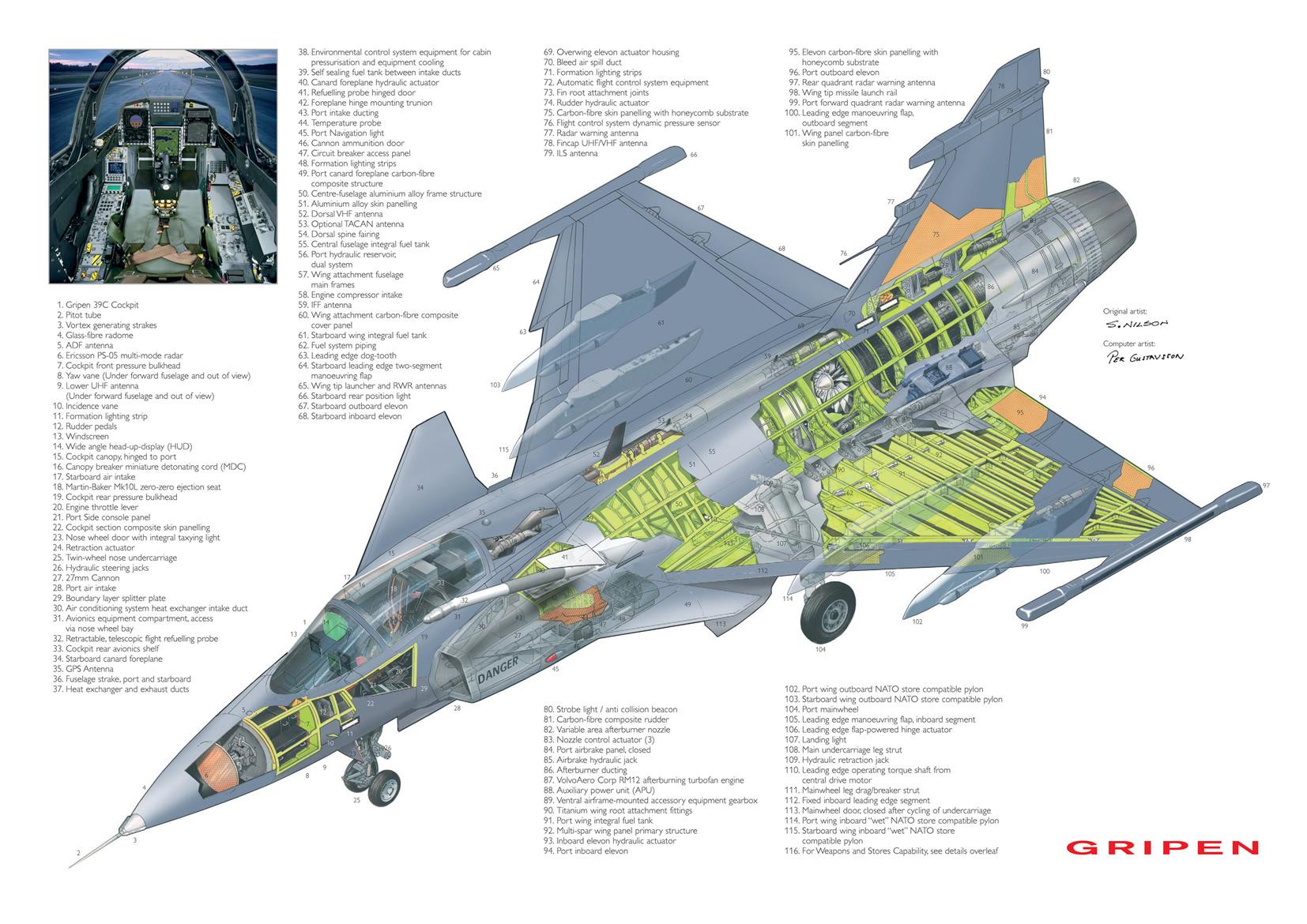 Liberacion de Mirage 2000-5 ex AdA para el mercado de segunda mano? - Página 16 Jas-39_gripen_cutaway_lg