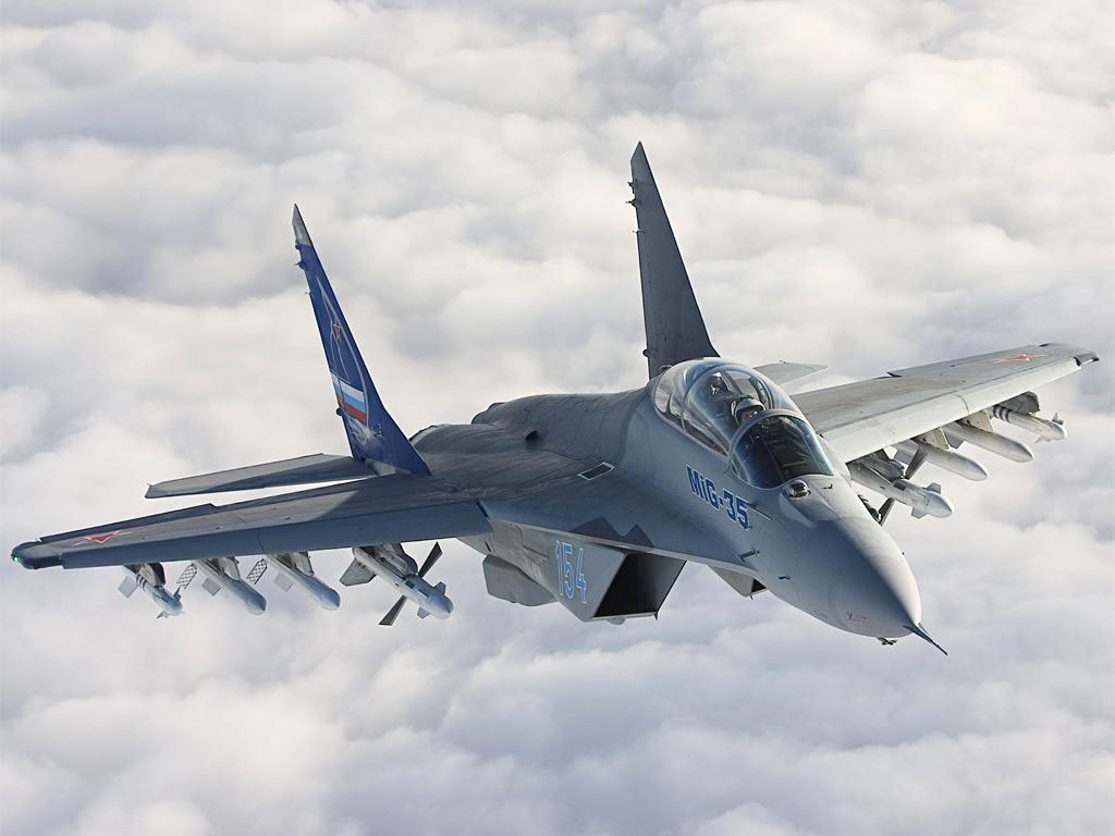 Forças Armadas russas devem optar por caças MiG-35D